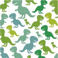 Anniversaire Salle - Thème dinosaure